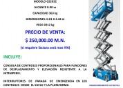 Plataforma autoelevadora vertical de tijera venta