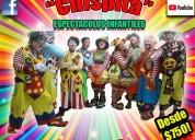 Comicidad show payasos alcaldÍa b.juarez