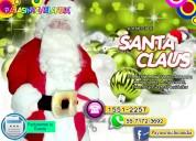 renta de santa claus para eventos navideÑos