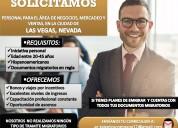Se solicita ejecutivos para vacantes en eeuu