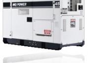 Generador eléctrico en contenedor multiquip dca45