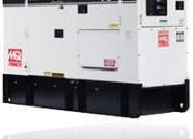 Generadores multiquip mod. dca75spi 75 kva