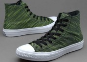 High black volt greenconverse chuck taylor all sta