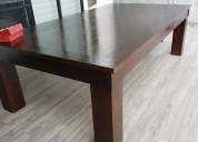 Excelente mesa de juntas, convertible a billar.