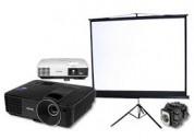 Renta de proyectores y pantallas