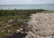Terreno en venta en rio indio en la costa maya.