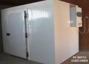 Cámara de refrigeración y congelación en renta