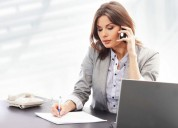 Solicitamos: secretarias y telefonista