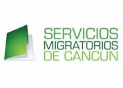 Servicios migratorios en cancÚn