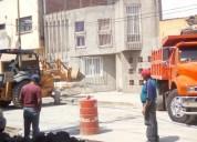 Excavaciones y construcciÓn  renta de equipo liger