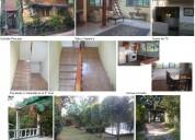 Rento casa de estilo catalán con jardin en privada