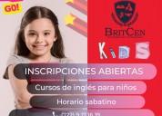 Britcen, cursos para niños, jóvenes y adultos