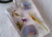 Dijes flores naturales
