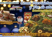 Cena navideña y para fin de año