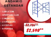 Andamio estándar de 1.56x2.00 mts