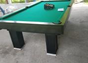 Excelente mesa para jugar billar
