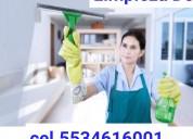 Servicios domésticos 5534616001