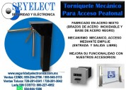 Torniquete mecÁnico seyelect