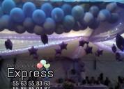 Telas y globos para todo tipo de eventos