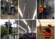Renta de plataforma genie con alcance de 10m