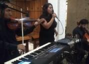 Violín soprano velorios misa cuerpo presente rosar