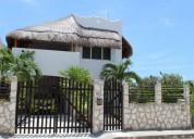 Casa frente a la playa en Mahahual