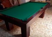 Mesa para jugar billar