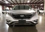 Honda crv aÑo 2015 color plata