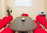 Renta de oficinas virtuales amuebladas