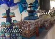 Animadoras de baby shower y decoración con globos al alcance de tu presupuesto