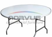 Venta de mesas redondas para fiestas