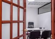 Oficinas disponibles servicios incluidos / amueblado