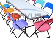 Venta de sillas y mesas infantiles resistentes