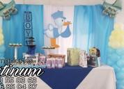 Pinta pancita y súper show de baby shower