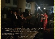 Mariachis en yautepec urgentes | 7353611367 |