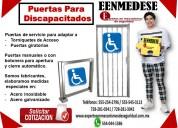 Puerta para discapacitados eenmedese