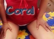 Coral muy cariñosa amorosa dulce delicada