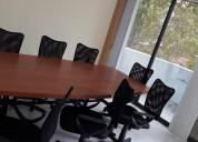 Renta de oficina con servicio de sala de juntas