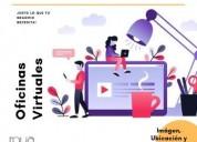 Una oficina virtual es justo lo que estabas buscan
