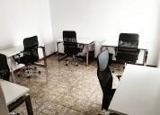 Oficinas disponibles amuebladas