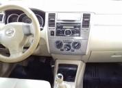 Tiida hatchback emotion 2008 lujo 1.8 lts, factura