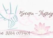 Si gustas de disfrutar de servicio de massaje?