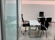 Oficina para cuatro personas en san pedro