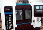 Centro de maquinado modelo vmc600e