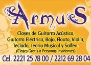 Armus: escuela de música, clases profesionales