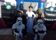 Gran show infantil de star wars