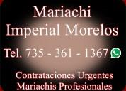 Mariachis urgentes en cuautla | 7353611367 | urgen