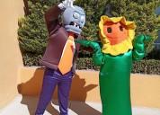 Show para fiesta infantil plantas vs zombies