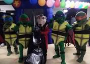 Show para fiesta infantil de las tortugas ninjas