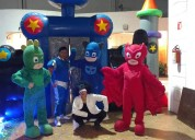 Show para fiesta infantil de héroes en pijama